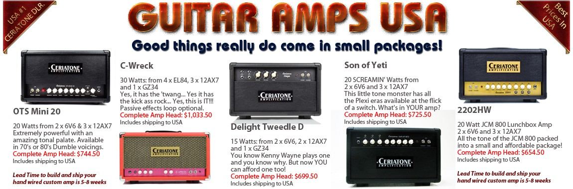 Guitar Amps USA